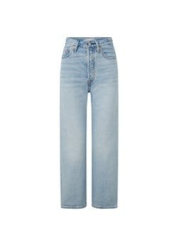 Levi's Levi's Ribcage high waist straight leg cropped jeans met lichte wassing
