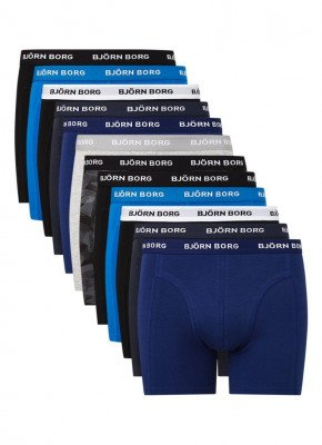 Bjorn Borg Björn Borg Solid Sammy boxershorts in 12-pack