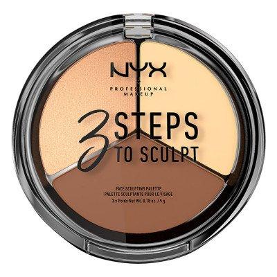 NYX Professional Makeup NYX Professional Makeup Light 3 Steps To Sculpt Contouring 5g