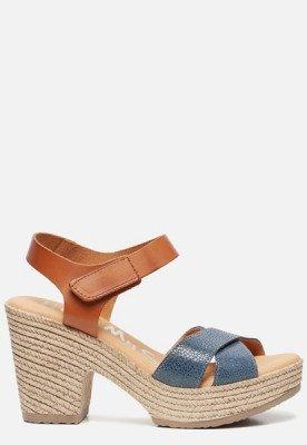 OH MY SANDALS OH MY SANDALS Sandalen met hak blauw