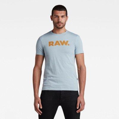 G-Star RAW RAW. T-Shirt - Midden blauw - Heren