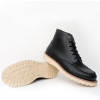 Will's Vegan Shoes Will's Vegan Shoes unisex vegan Boots Low Rig Zwart Zwart 40 Gerecycled rubber/Microfibre (micronappa, microsuède)