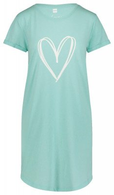 HEMA Dames Nachthemd Lichtgroen (lichtgroen)