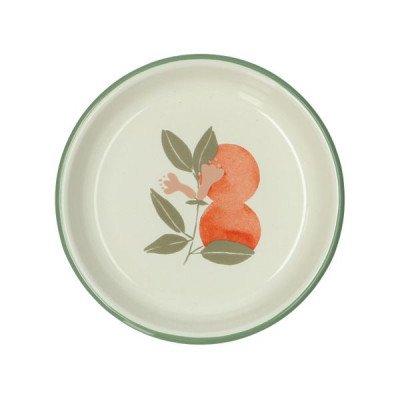 DilleenKamille Diep bord, emaille, sinaasappels,Ø 15 cm