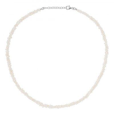 Eline Rosina Short Freshwater Pearl necklace