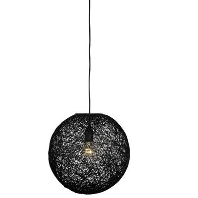 LABEL51 LABEL51 hanglamp 'Twist' 30 cm, kleur zwart