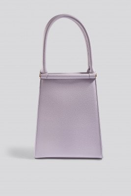 NA-KD Accessories Top Handle Trapeze Bag - Purple