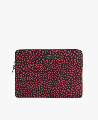 "Wouf Wouf 15"" Laptop Sleeve Hearts"