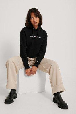 Tommy Jeans Tommy Jeans Hoodie Met Logo - Black