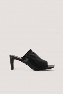 NA-KD Shoes NA-KD Shoes Elastic Mules - Black