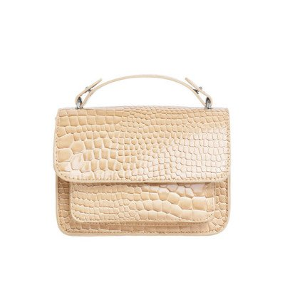Veganbags Hvisk Renei Croco Light Beige