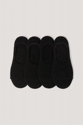 NA-KD Lingerie NA-KD Lingerie Organisch Sokken - Black