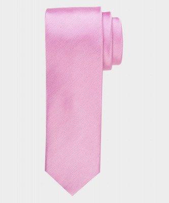 Michaelis Michaelis heren zijden stropdas roze