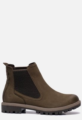 tamaris Tamaris Chelsea boots groen