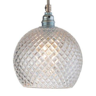 Ebb en Flow EBB & FLOW Rowan hanglamp, zilver Ø 15,5cm