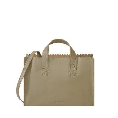 MYOMY MYOMY My Paper Bag Mini handbag cross-body Sand