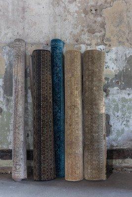 Dutchbone Dutchbone Vloerkleed 'Shisha' 160 x 235cm, kleur Desert