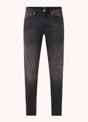 Gant Gant Maxen extra slim fit jeans met gekleurde wassing en stretch