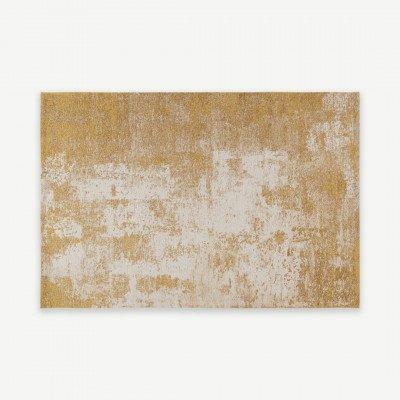 MADE.COM Genna vloerkleed, 160x230cm, goud