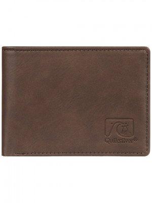Quiksilver Quiksilver Slim Vintage IV Wallet bruin