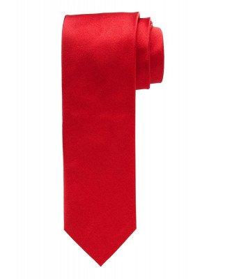 Profuomo Profuomo heren rode royal satijn-zijden stropdas