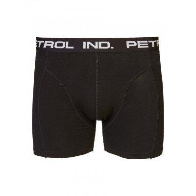 Petrol Underwear Boxershort Zwart (two pack)