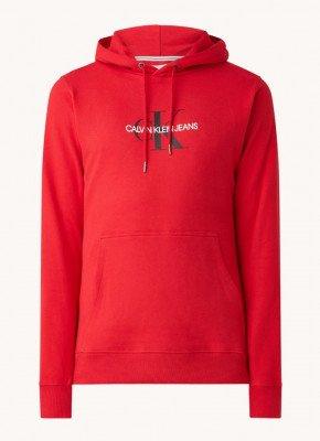 Calvin Klein Calvin Klein Monogram hoodie met logoprint