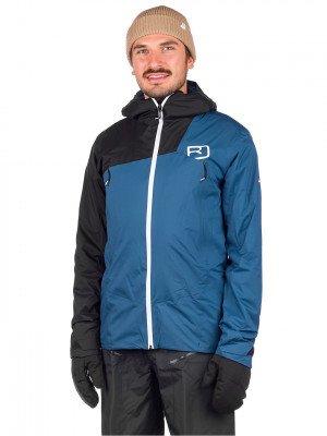 Ortovox Ortovox 2L Swisswool Leone Jacket blauw