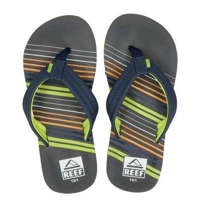 Reef Reef Ahi stripe slippers