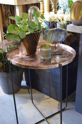 YardLife YardLife Bijzettafel 'Copper' ø60 x 75cm