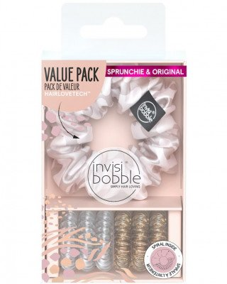 Invisibobble Invisibobble Duo Tamed Beauty 1sp6or Invisibobble - Duo Tamed Beauty 1sp6or DUO TAMED BEAUTY 1SP+6OR