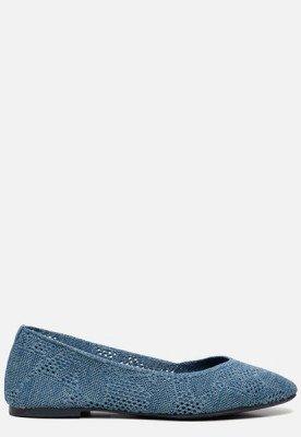 Skechers Skechers Cleo Knitty City ballerina's blauw