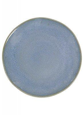 HEMA HEMA Gebaksbord - 16.5 Cm - Porto - Reactief Glazuur - Blauw (blauw)