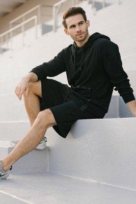 Fabian Kitzweger for nu-in 100% Organic Bonded Slim Fit Shorts
