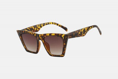 Blank-Sunglasses NL NAOMI. - Leopard with brown