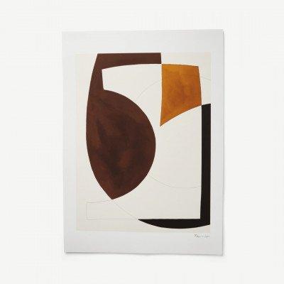 MADE.COM Composition 01 door Berit Mogensen Lopez, print, 100 x 70 cm