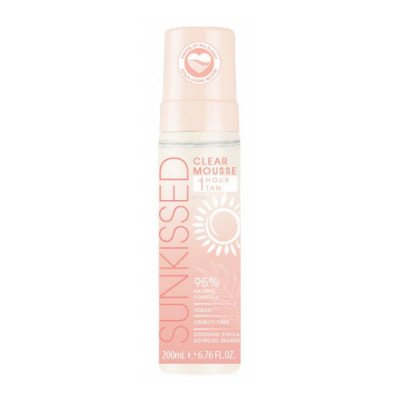 Sunkissed Sunkissed Clear Mousse 1 Hour Tan Clean Ocean Edition