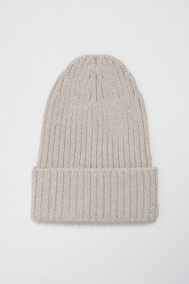 nu-in 100% Upcycled Blend Chunky Ribbed Beanie