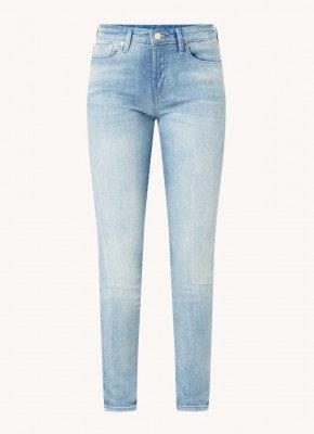 Denham Denham Spray mid waist skinny fit jeans met lichte wassing