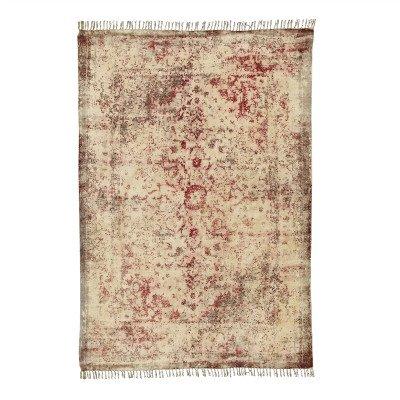 Firawonen.nl PTMD Murry Red katoenen chenille tapijt rechthoek L