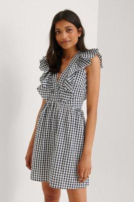 NA-KD NA-KD Organisch Mini-jurk - Black