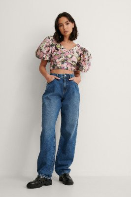 NA-KD Reborn NA-KD Reborn Organisch Jeans - Blue