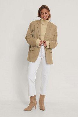 MANGO Jeans - White