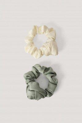NA-KD Accessories Scrunchies - Blue