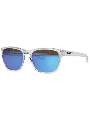 Oakley Oakley Manorburn Polished Clear Sunglasses patroon