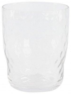 HEMA HEMA Waterglas Bergen Facet Reliëf 360ml
