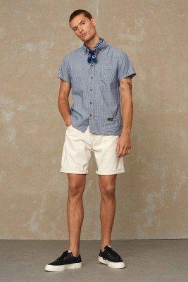 Kings of indigo Kings of Indigo - LUCIUS SHORT shorts Male - Beige