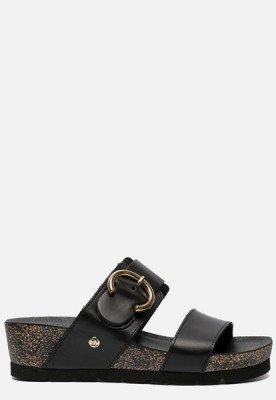 Panama Jack Panama Jack Catrina B4 sandalen met sleehak zwart