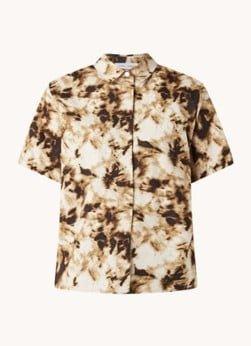 SAMSØE SAMSØE SAMSØE SAMSØE Mina blouse in biologische katoenblend met print