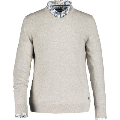 State of Art State of Art Pullover V-Neck Plai